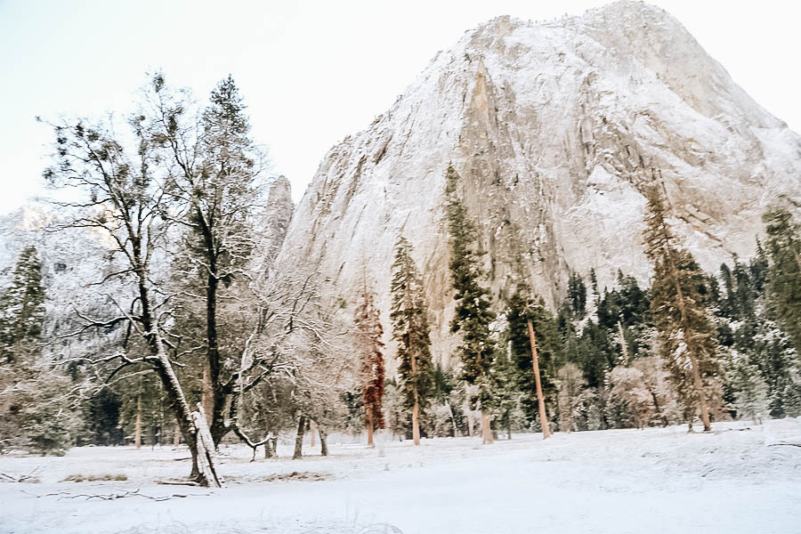 Parc national de Yosemite en Californie