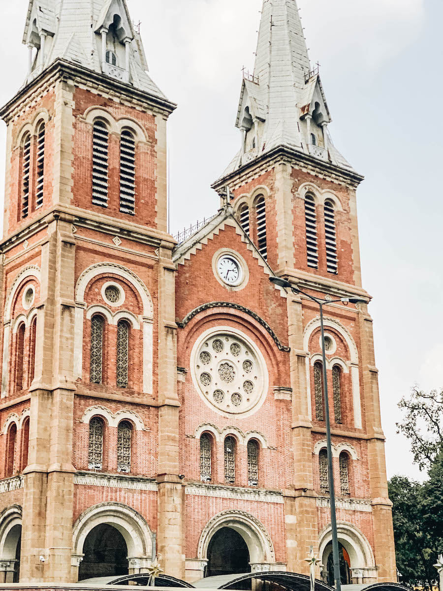 Ho Chi Minh's (Saigon) Notre Dame Cathedral