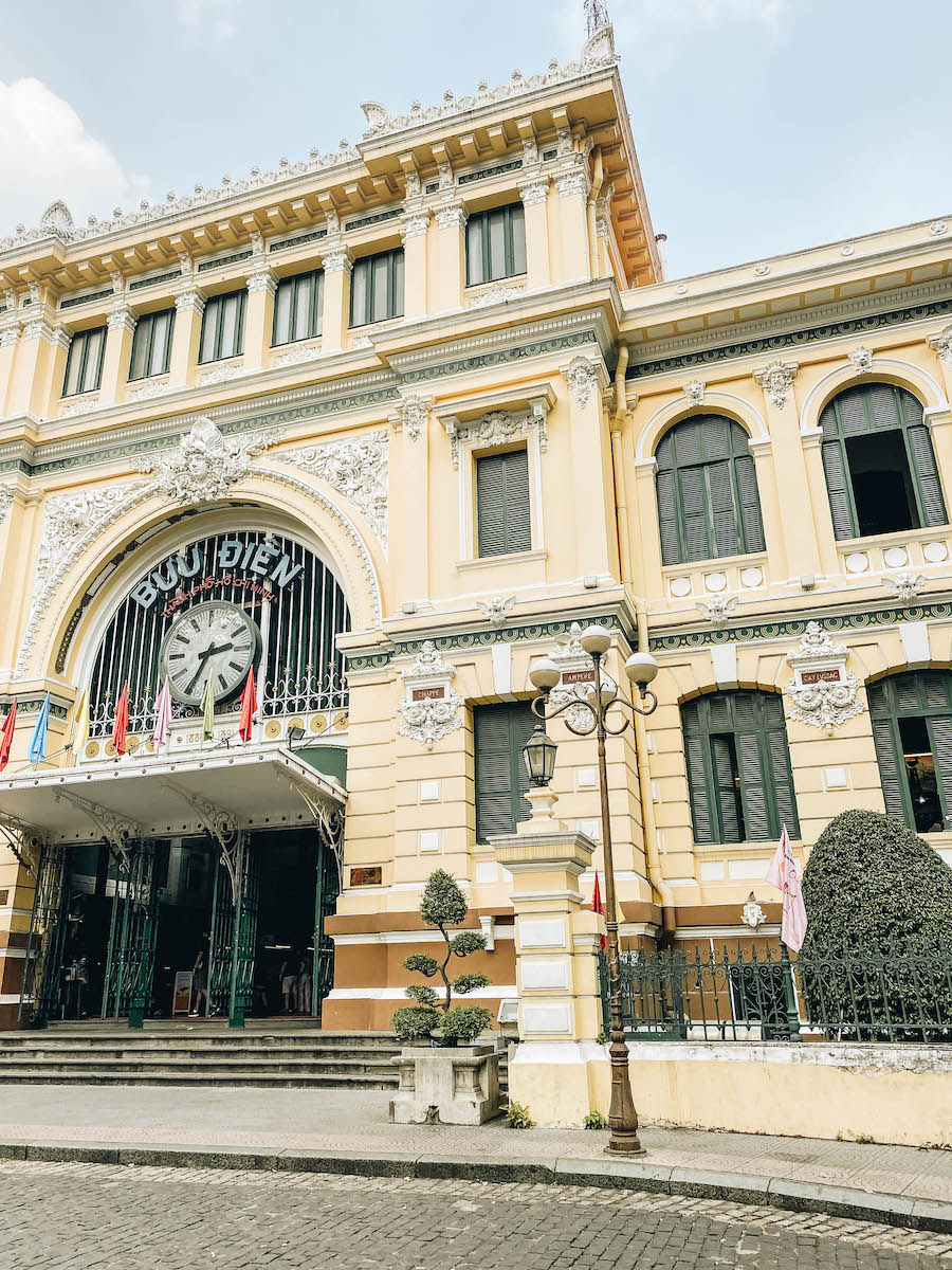 Central Post Office Ho Chi Minh's (Saigon)