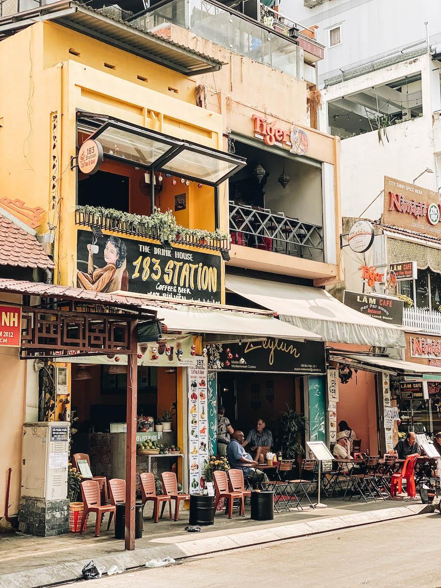 Bui Vien Backpacker Street in Saigon