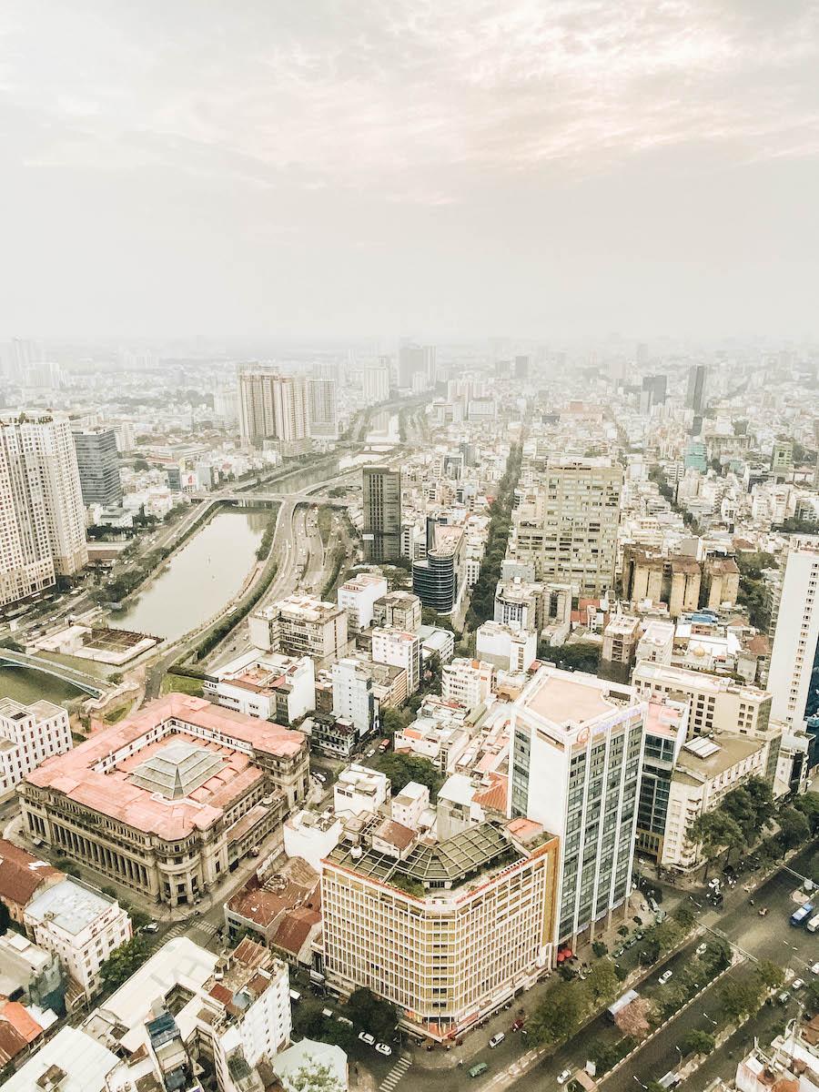 Saigon Skydeck in Ho Chi Minh (Saigon)