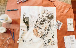 cow Adult Painting by numbers