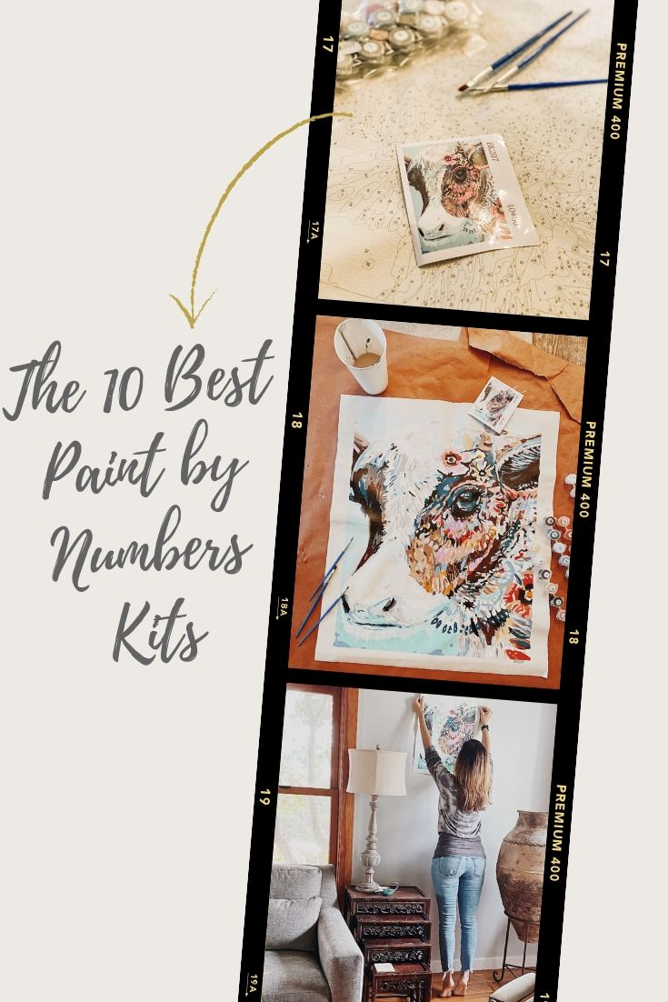 The Best Adult Paint by Numbers Kits