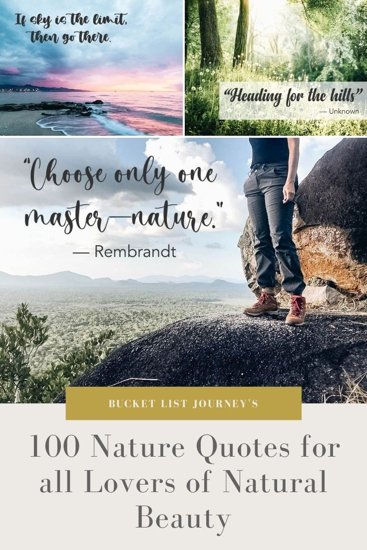 The Best Nature Quotes for all Lovers of Natural Beauty (To Use for Instagram & More)