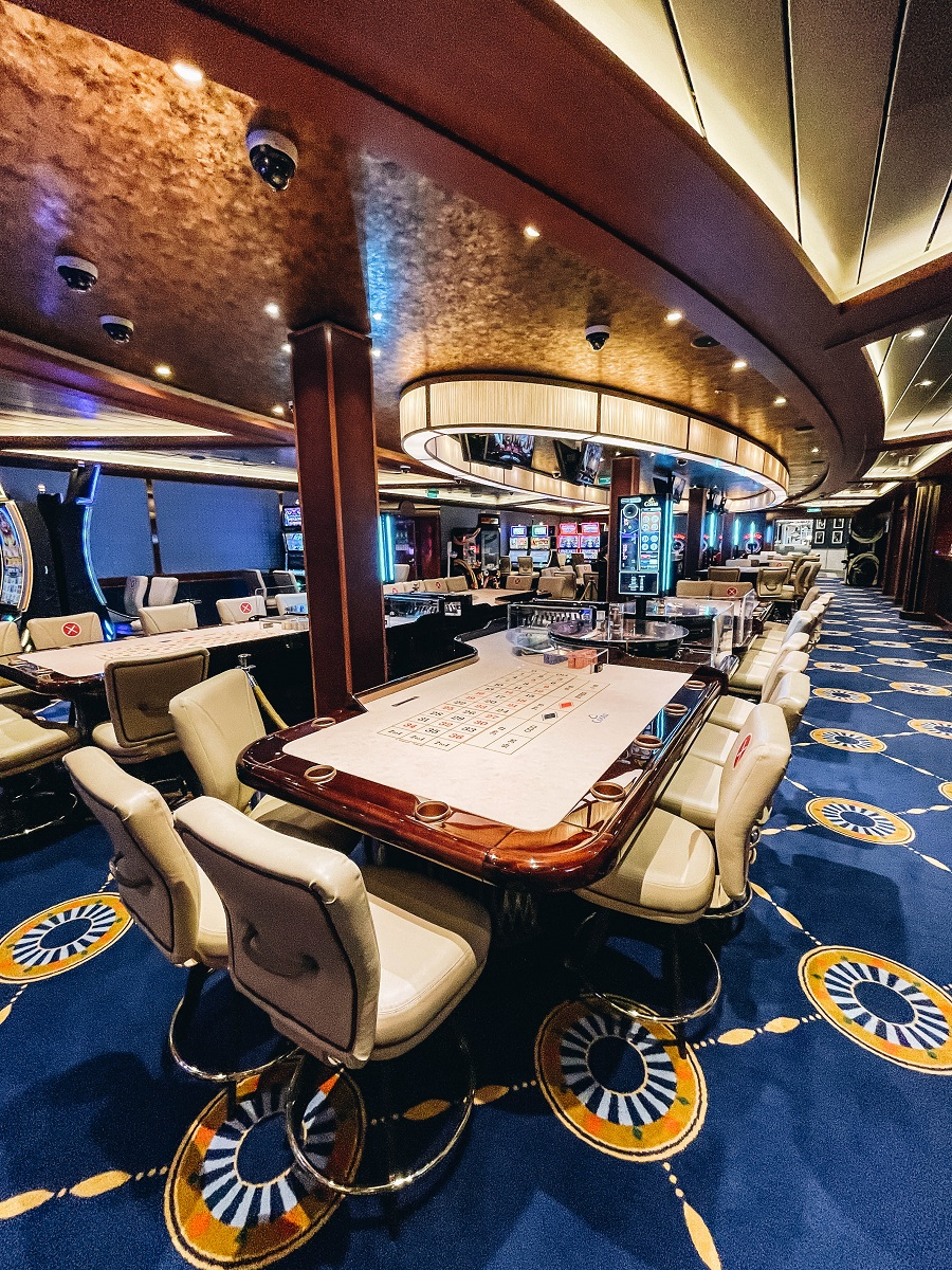 Costa inside Smeralda Cruise Ship