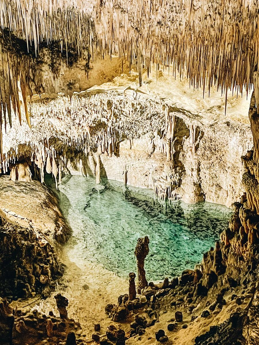 Caves of Drach Palma de Mollorca in Spain