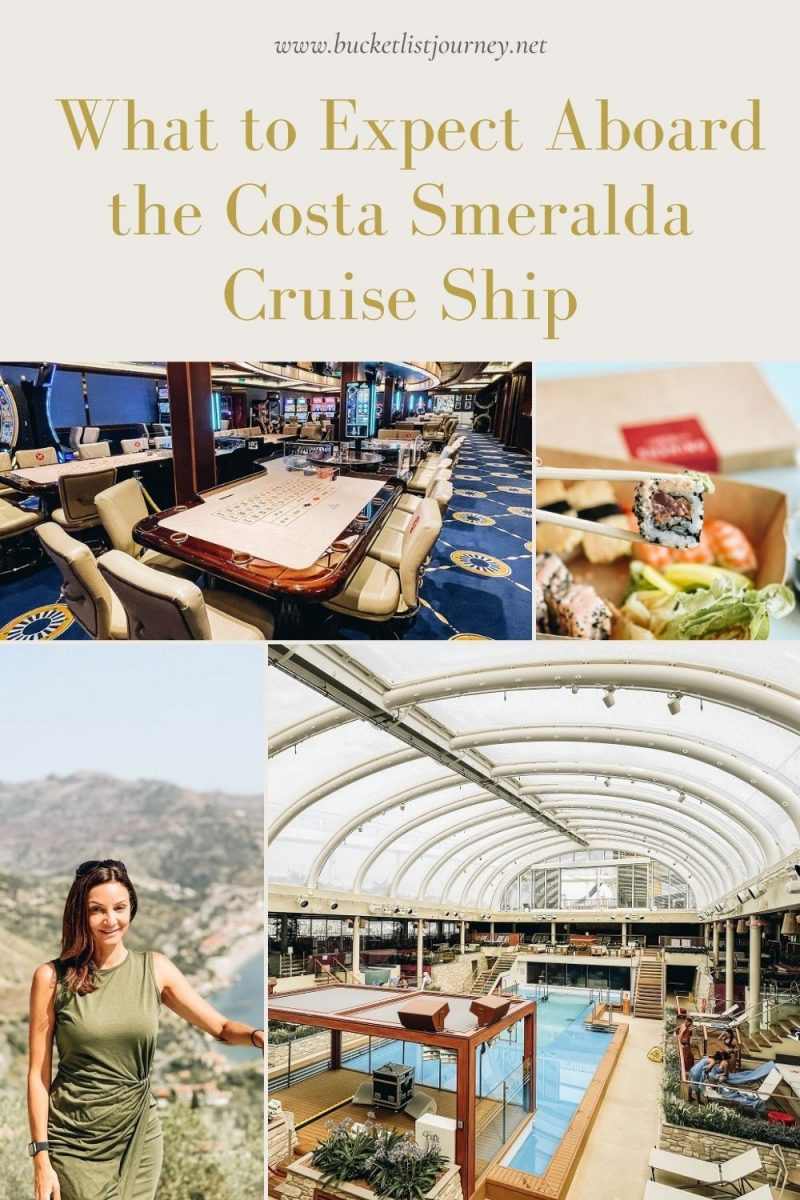 What to Expect Aboard the Costa Smeralda Cruise Ship