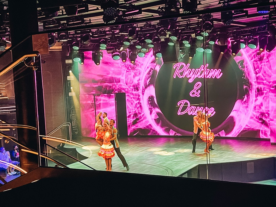 Shows performed onboard Costa Smeralda Cruise Ship
