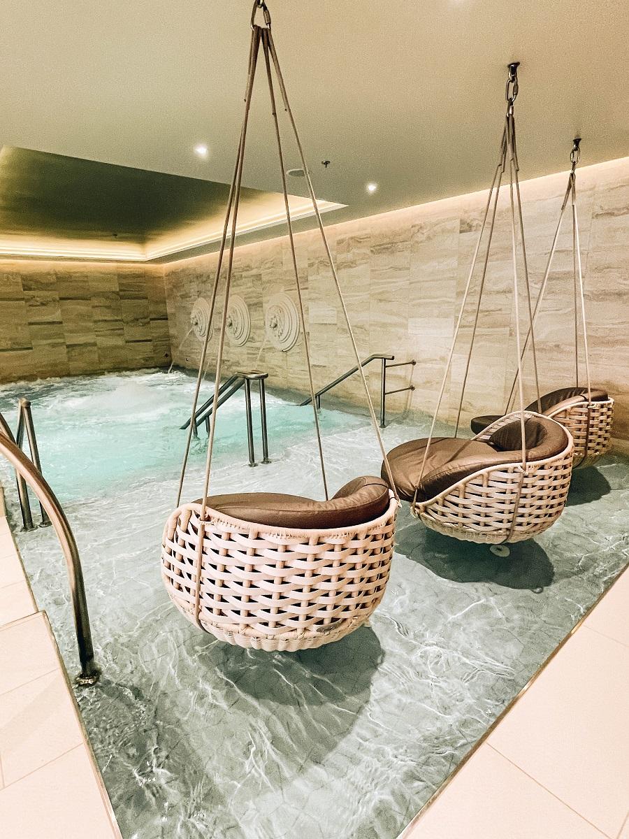 Spa inside Costa Smeralda Cruise Ship