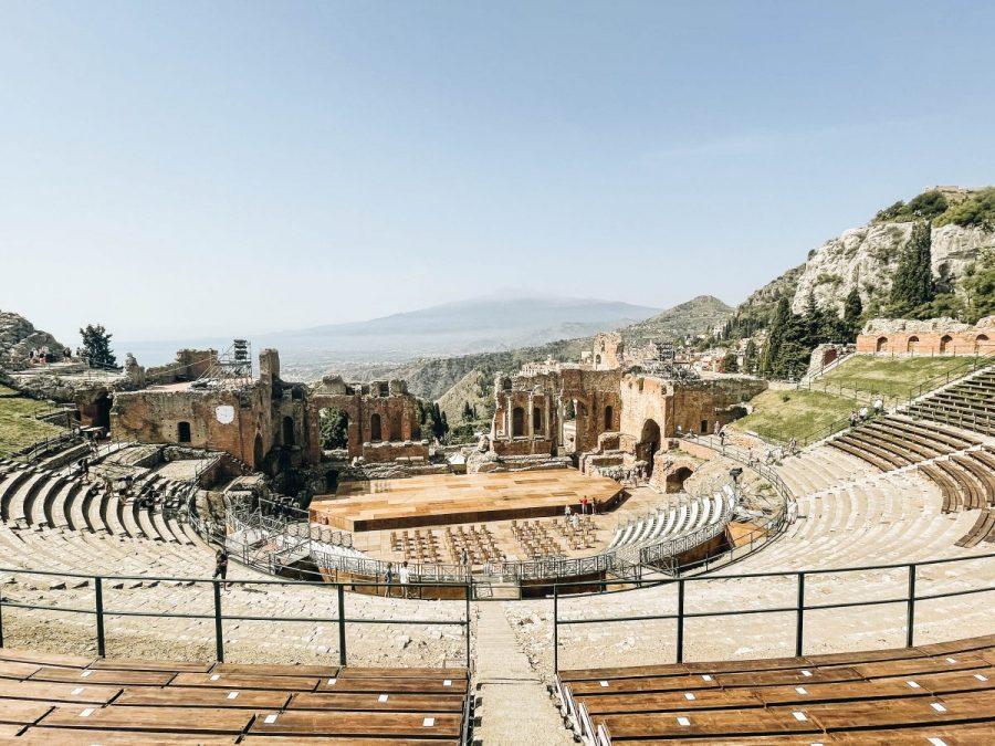 Taormina Sicily Teatro Antico di Taormina